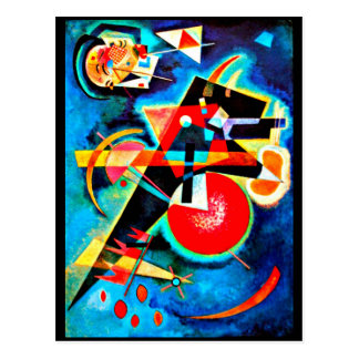 Postcard-Classic/Vintage-Wassily Kandinsky 22 Postcard