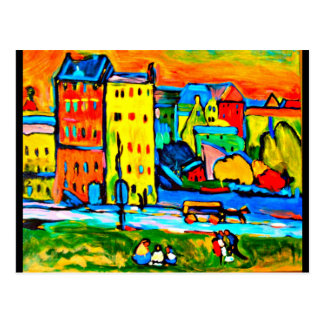 Postcard-Classic/Vintage-Wassily Kandinsky 2 Postcard