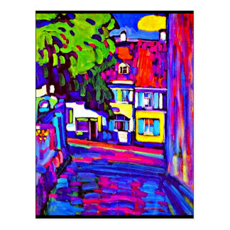 Postcard-Classic/Vintage-Wassily Kandinsky 7 Postcard