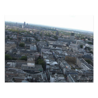 Postcard - Cologne from above