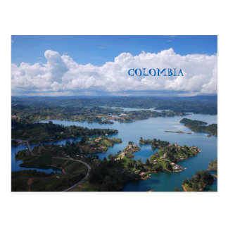 Postcard | Colombia, Guatape, near Medellín.