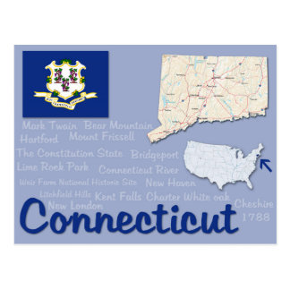 "Postcard ""Connecticut"""