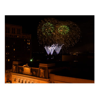 Postcard: Dayton Fireworks Postcard