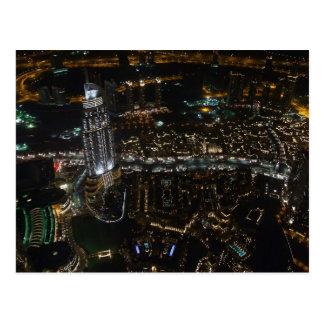 Postcard Dubai (by night), Saudi Arabia