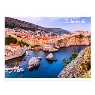 Postcard  Dubrovnik Croatia