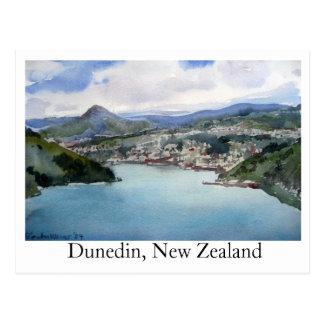 Postcard Dunedin, New Zealand