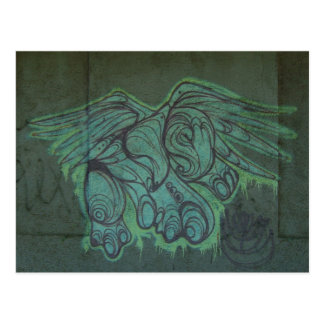 Postcard Eagle Graffiti San Juan Puerto Rico
