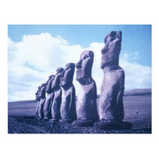 Postcard-Easter Island, Chile Postcard