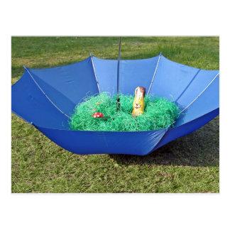 Postcard - Easter nest