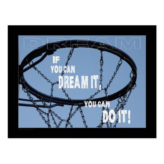 "Postcard ""Encouragement-Dream"""