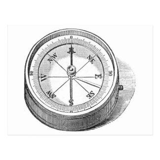 Postcard - Engineer Compass