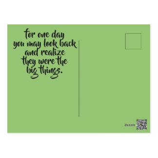 Postcard - Enjoy The Little Things