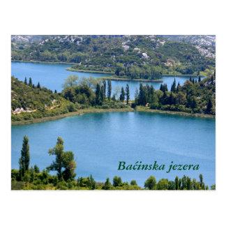 postcard for Bacinska moor, Croatia
