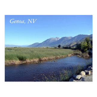 Postcard for Genoa, Nevada