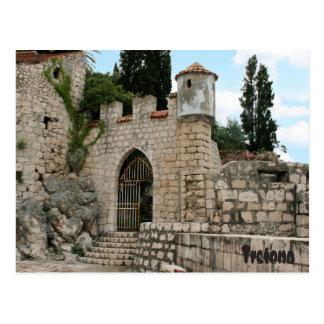 postcard for Trsteno, Dubrovnik, Croatia
