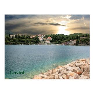 postcard for Zaton near Dubrovnik, Croatia