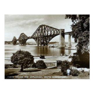 Postcard, Forth Bridge, Scotland Postcard