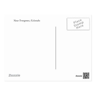 Postcard from Evergreen, Colorado