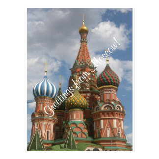 Postcard from Moscow