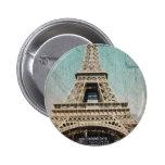 Postcard From Paris EIffel Tower Pins