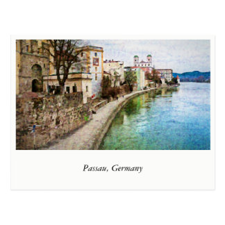 Postcard from Passau, Germany