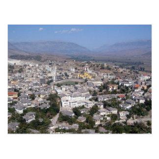 Postcard Gjirokastra in Southern Albania
