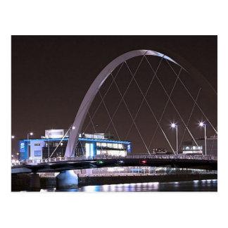 Postcard Glasgow Squinty Bridge
