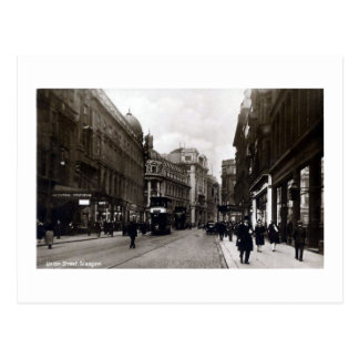Postcard, Glasgow, Union Street Postcard