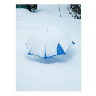 Postcard - got snowed up II