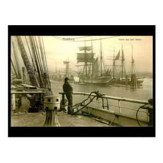 Postcard - Hamburg Harbour 1907