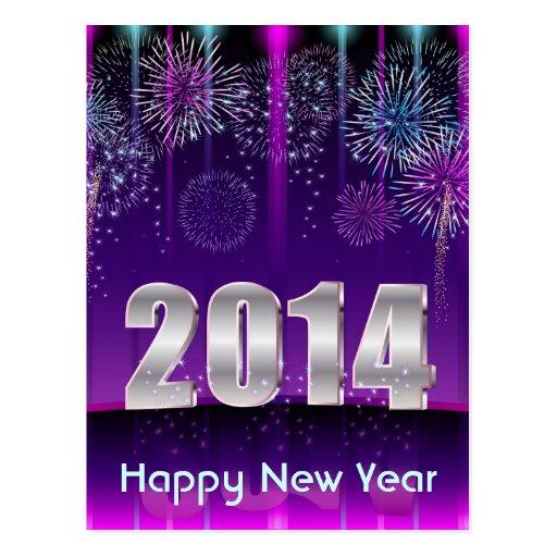 Postcard Happy New Year 2014