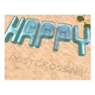 "Postcard ""Happy Postcrossing!"""