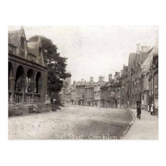 Postcard, High Street, Chipping Campden,  c 1920 Postcard