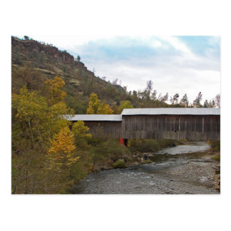 POSTCARD - Honey Run Covered Bridge