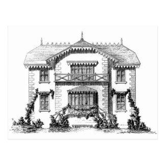 Postcard - House