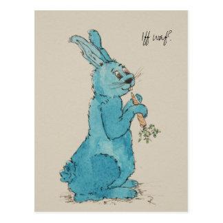 """Postcard """"Iff waf?"""" Motive for Easter"""