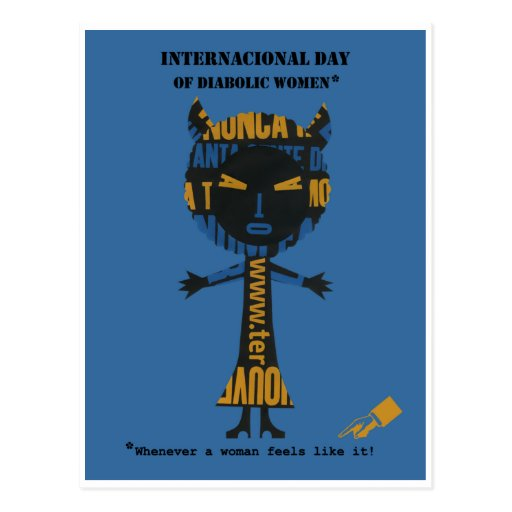 POSTCARD INTERNATIONAL DAY...