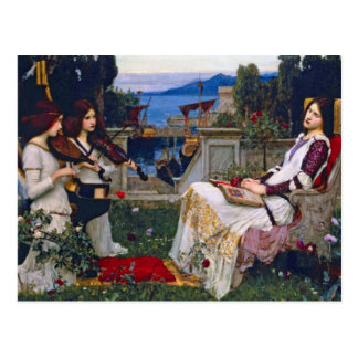 Postcard: John Waterhouse - Saint Cecilia Postcard