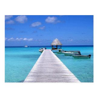 Postcard Kia Ora, Rangiroa Atoll French Polynesia