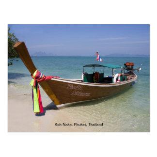 Postcard - Koh Naka, Phuket, Thailand
