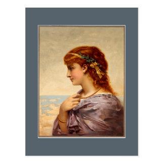Postcard - Lady