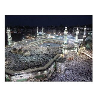 Postcard Large Mosque, Mecca Saudi Arabia
