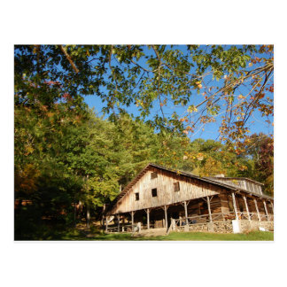 Postcard- Lodge in Autumn Postcard