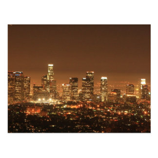 Postcard - Los Angeles Skyline