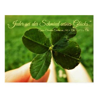 """Postcard """"luck """""""