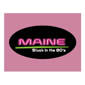 Postcard MAINE STUCK IN THE 80'S