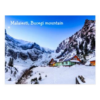 Postcard  Malaiesti, Bucegi mountain Romania