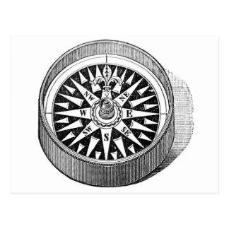 Postcard - Mariner Compass
