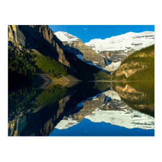 Postcard Mirror Lake Louise, Alberta Canada