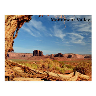 Postcard  -  Monument Valley